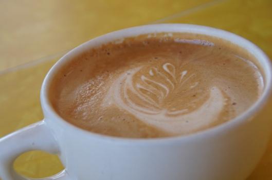 A yummy cappuccino.