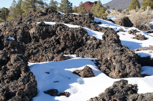 Cinder cones come in various sizes and shapes.