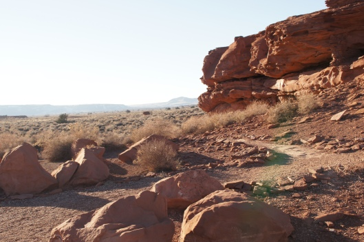 We started our visit at the Wukoki Pueblo, which was an easy hike.