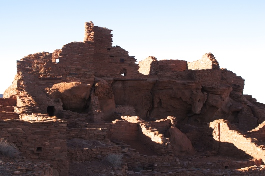 There are several parts to the pueblo complex.